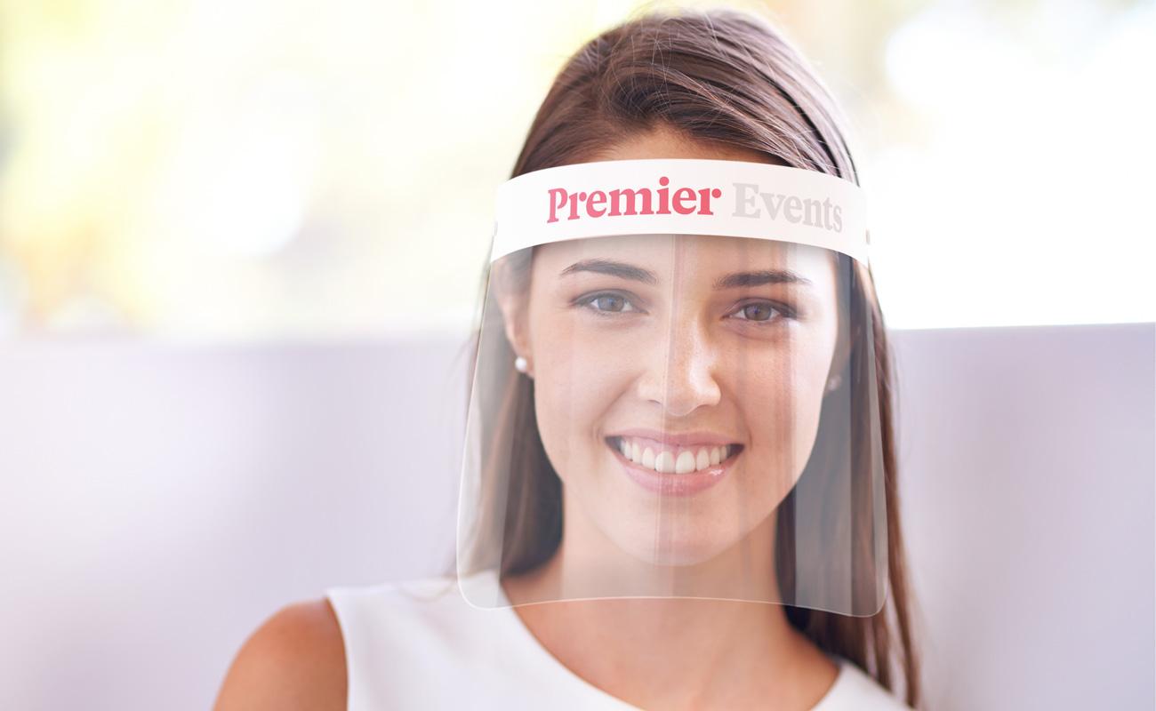 Barrier - Branded Face Shields