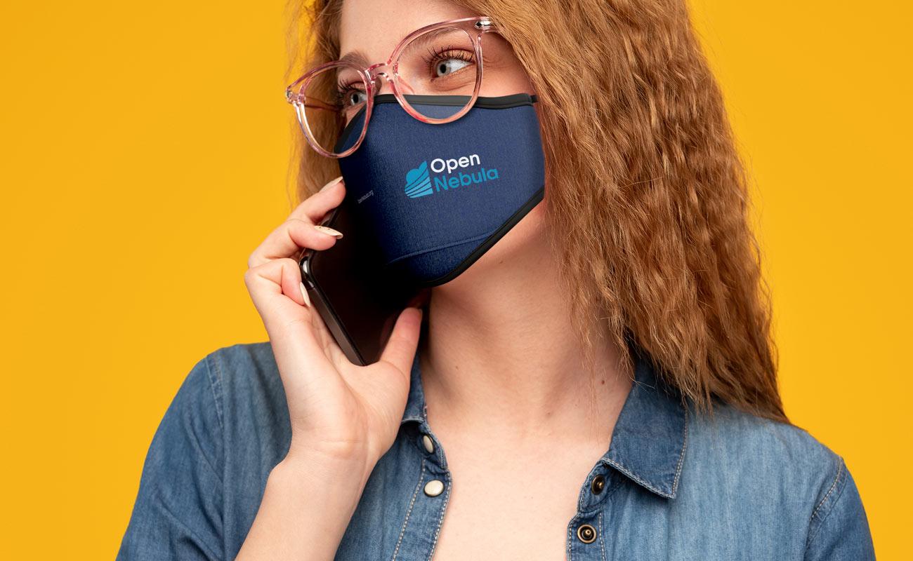 Denim - Custom Face Masks