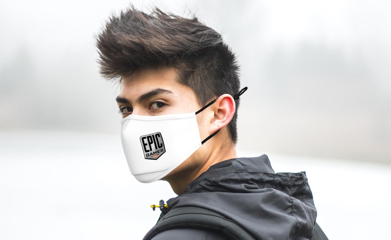 Junior - Printed Face Mask
